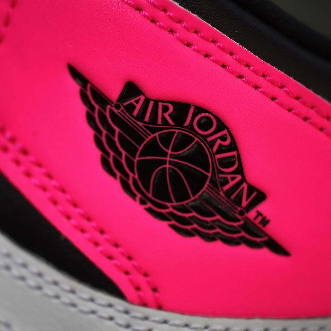 Air Jordan 1 Valentine's Day Black Pink Release Date 3M 881426-009 (12)