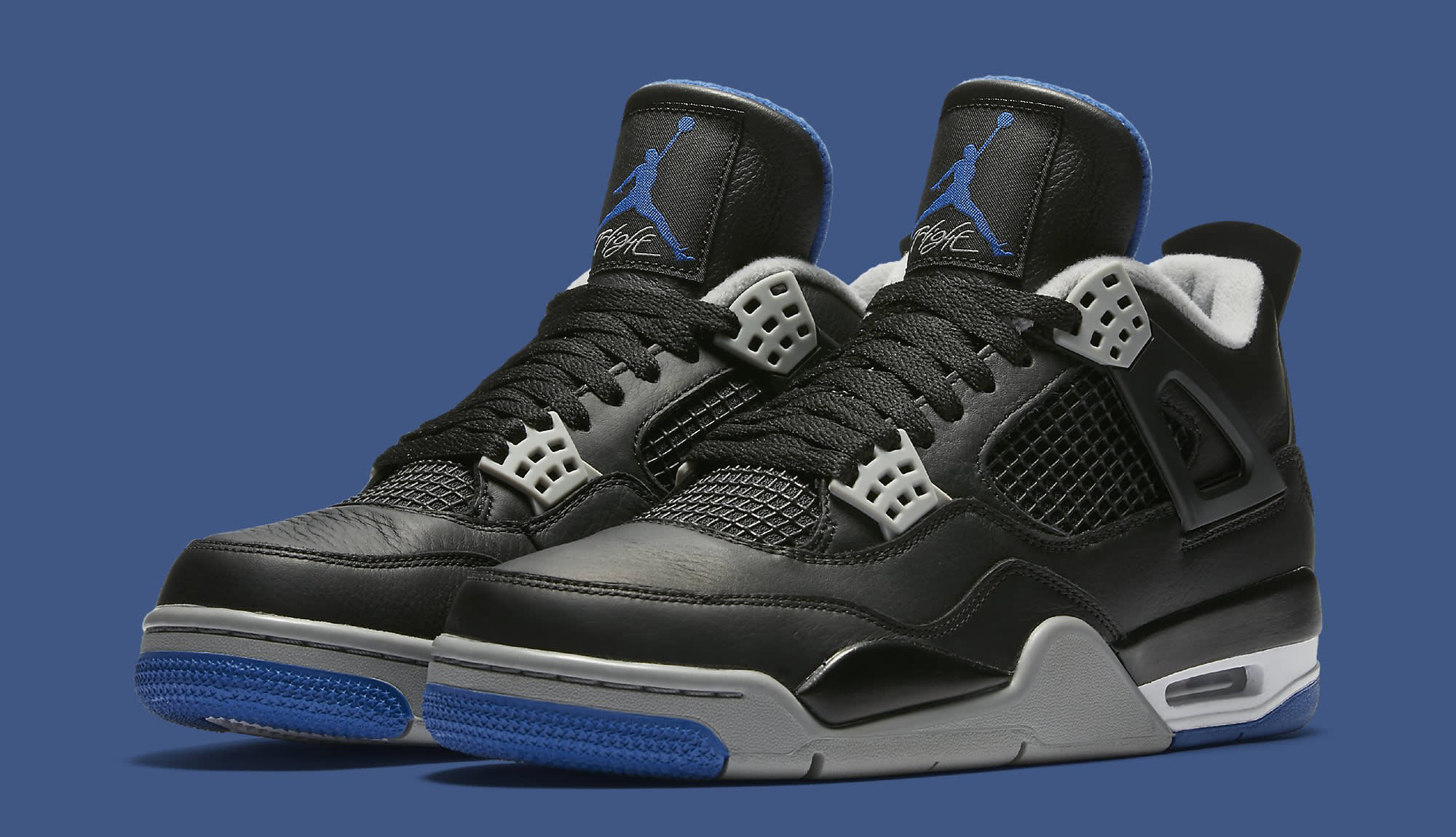air jordan 4 black royal