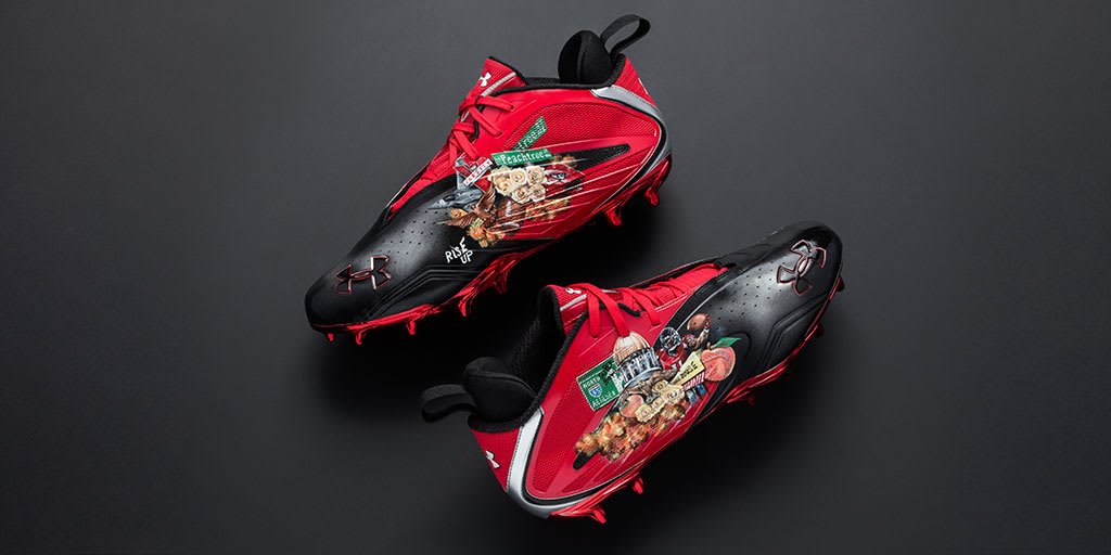 Under Armour Mercenary Migos Julio Jones Cleats (2)