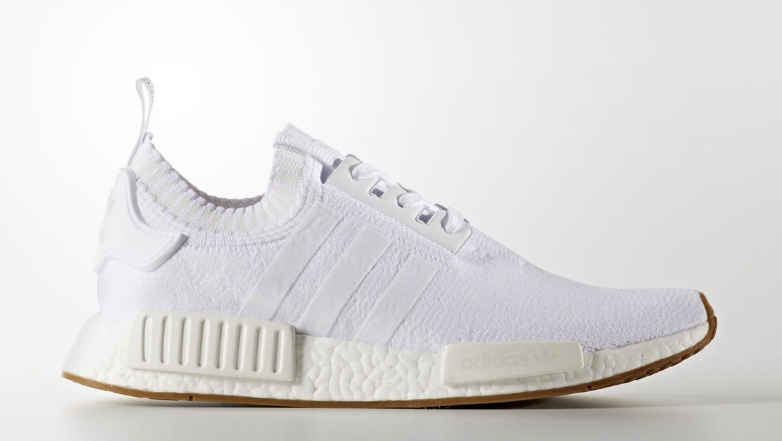 adidas NMD_R1 White Gum Sole Collector Release Date Roundup
