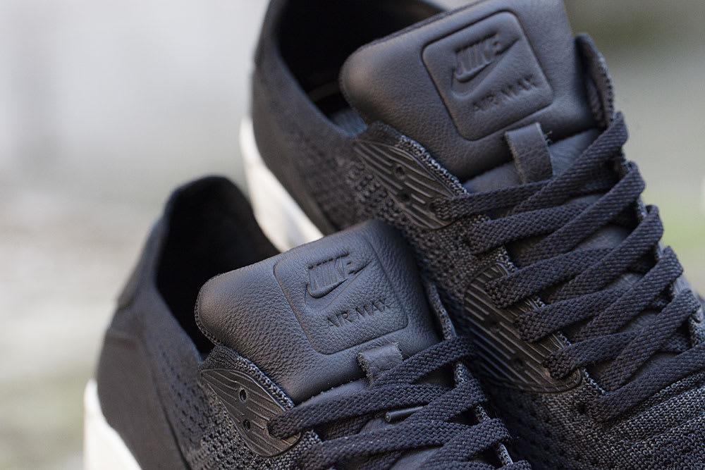 NikeLab Air Max 90 Flyknit Black Tongue 876320-001