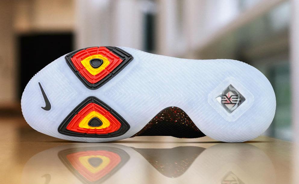 Nike Kyrie 3 Black/Red PE Sole