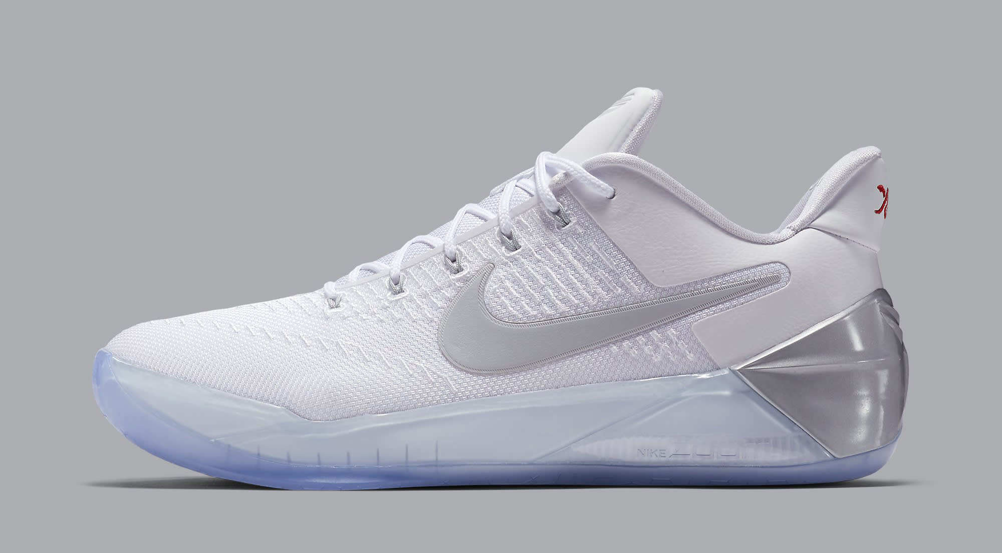 reputable site 25105 492cc Nike Kobe AD White Silver 852427-110 | Sole Collector