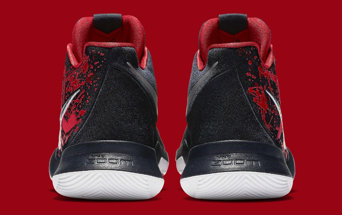 Nike Kyrie 3 Samurai Release Date Heel 852395-900