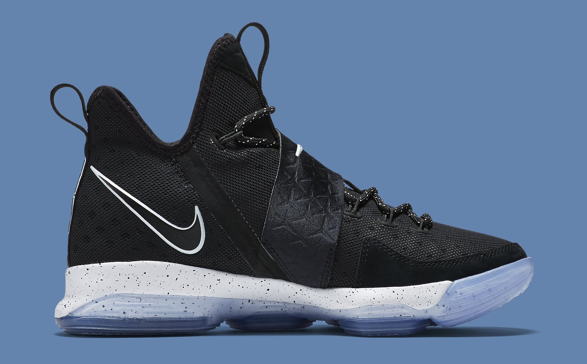 Black Ice Nike LeBron 14 921084-002 Medial