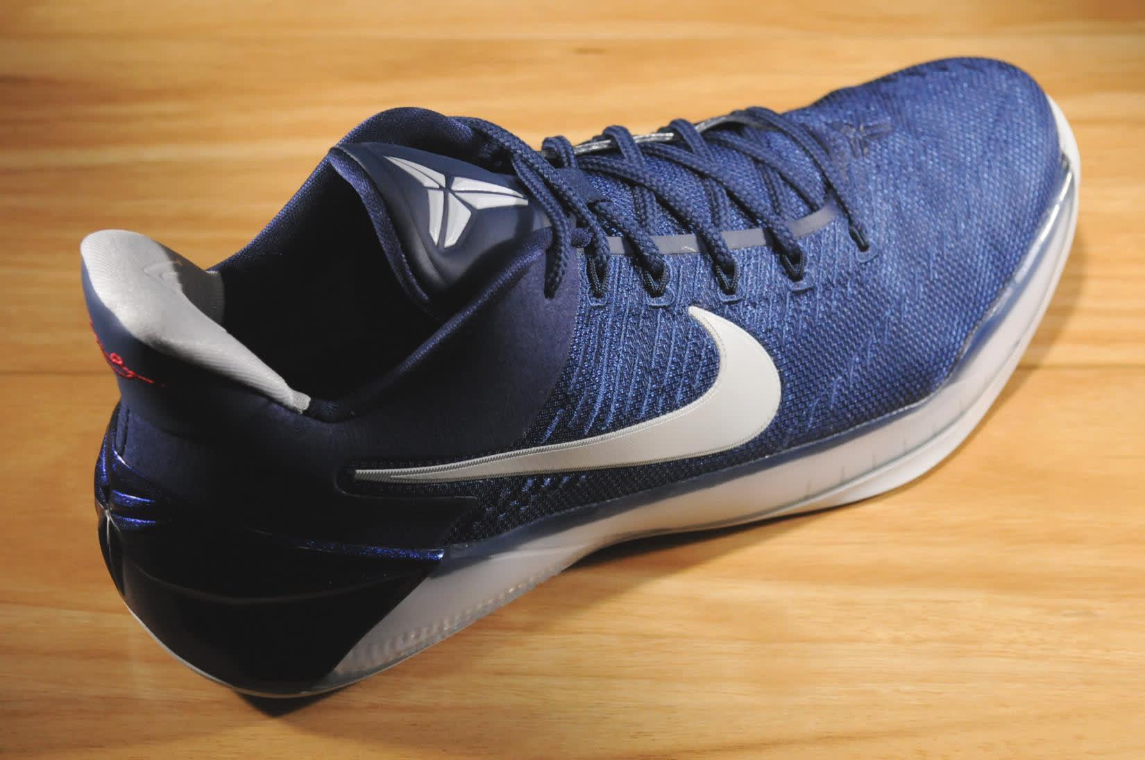 quality design 35577 13cef ... Nike Kobe AD Midnight Navy Heel 852425-406 ...