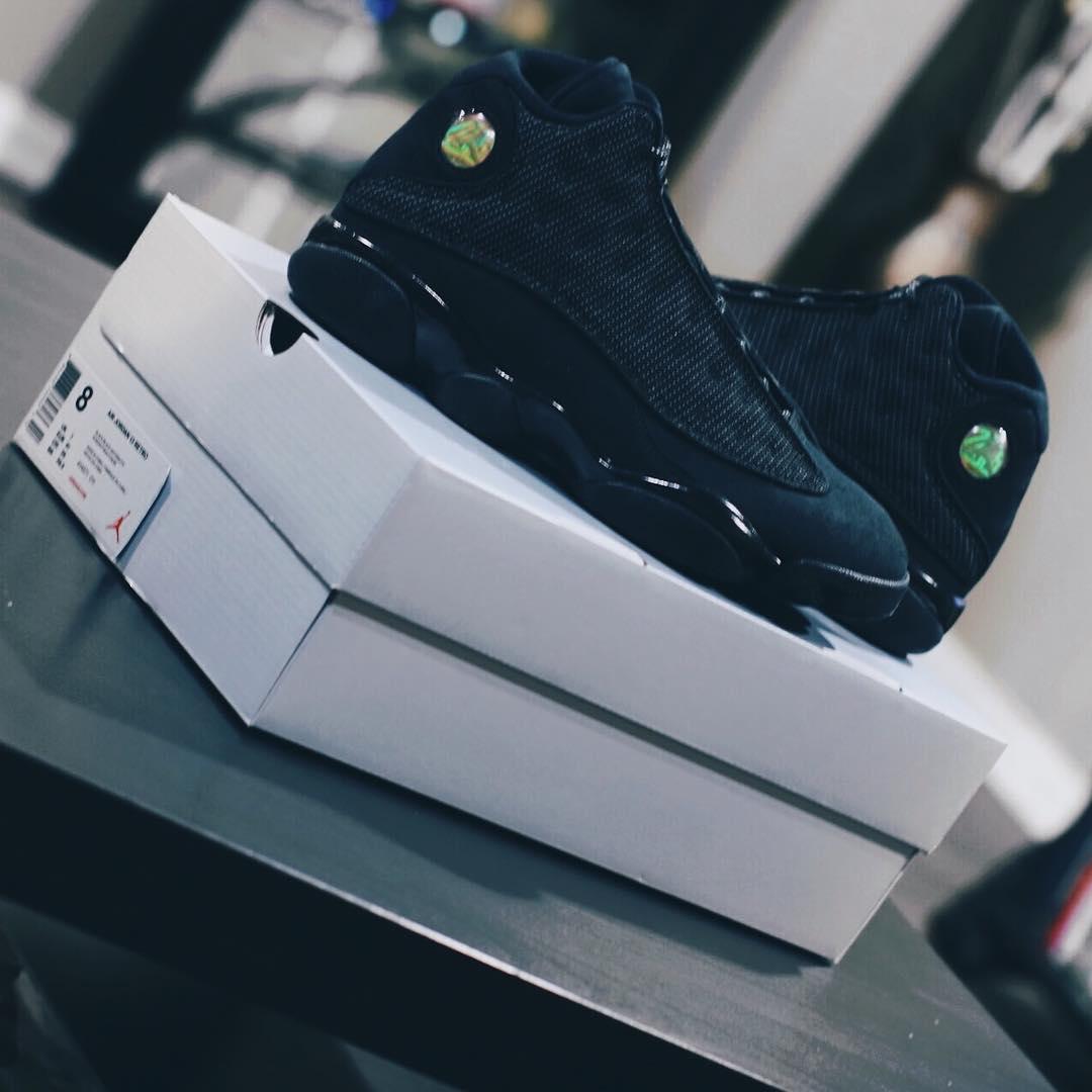 new product fce23 6d9a6 Air Jordan 13 Black Cat Release Date Box414571-011