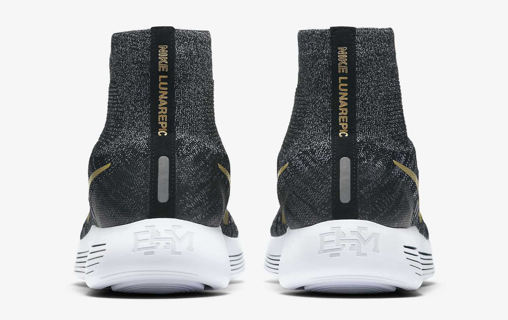 Nike LunarEpic Flyknit BHM 881681-007 Heel