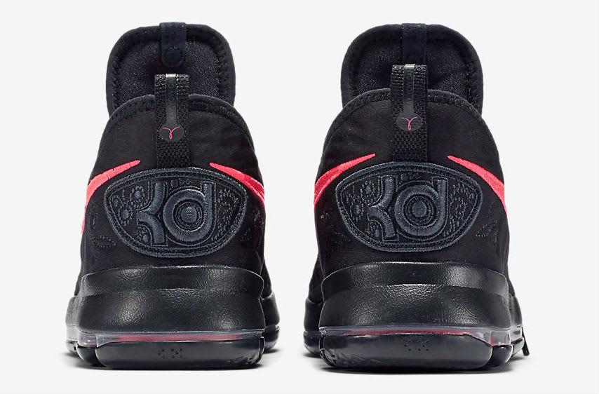 Nike KD 9 Aunt Pearl Release Date Heel