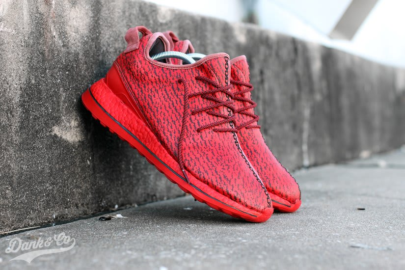 4bc1797cc Adidas Yeezy Cleats Red Conversion by Dank Toe