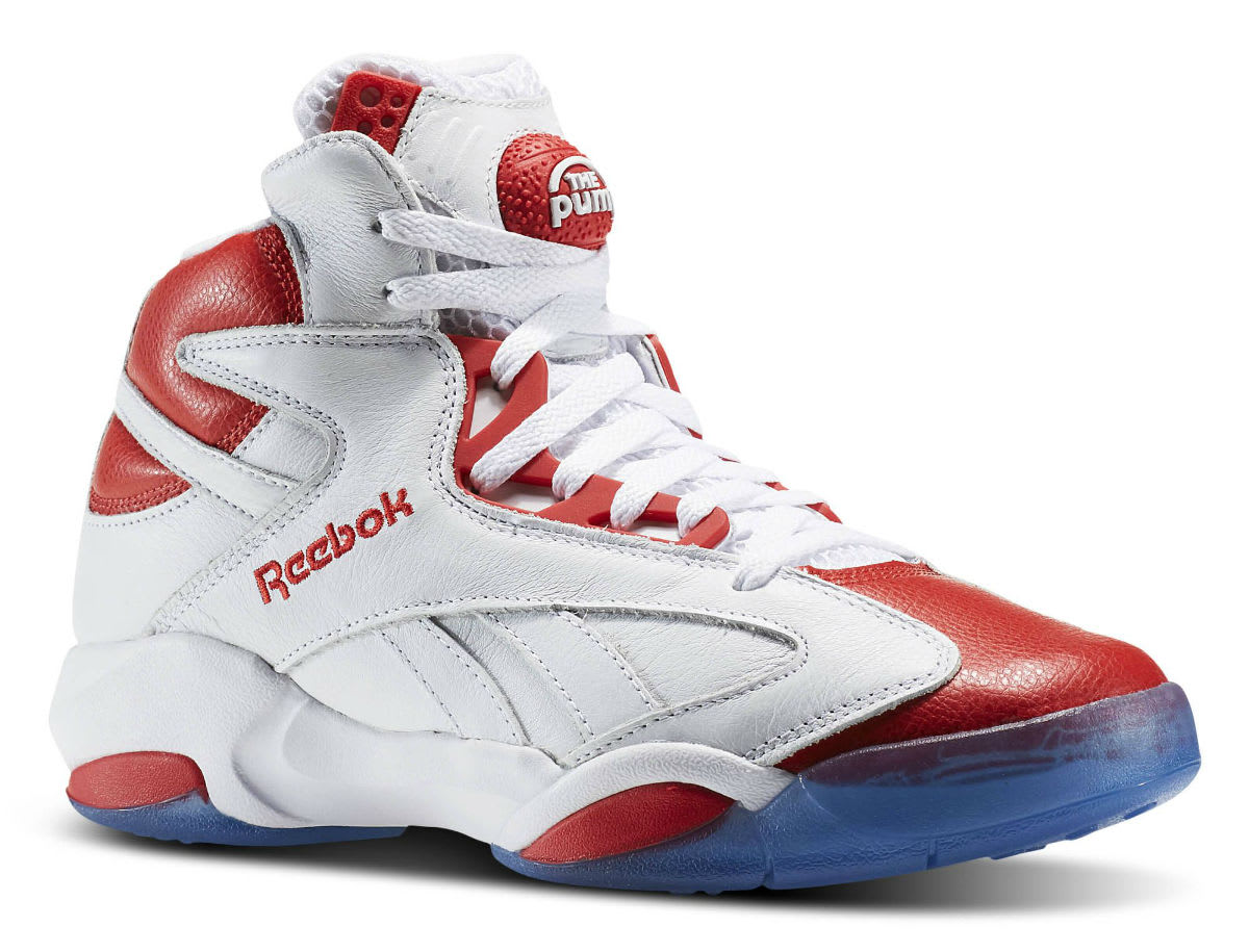 "1d01e88c47af Reebok Shaq Attaq  Pure Platinum  This release features a full Metallic  covered upper with a diamond ""SHAQ"" logo on the heel that was displayed on  Shaq s."