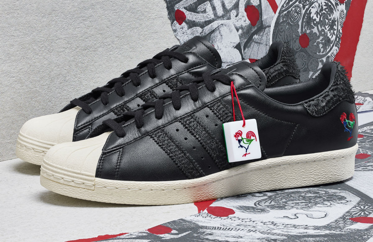 Adidas Superstar CNY Year of the Rooster