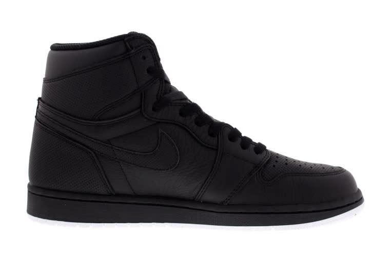 """Air Jordan 1 """"Black Perforated"""""""