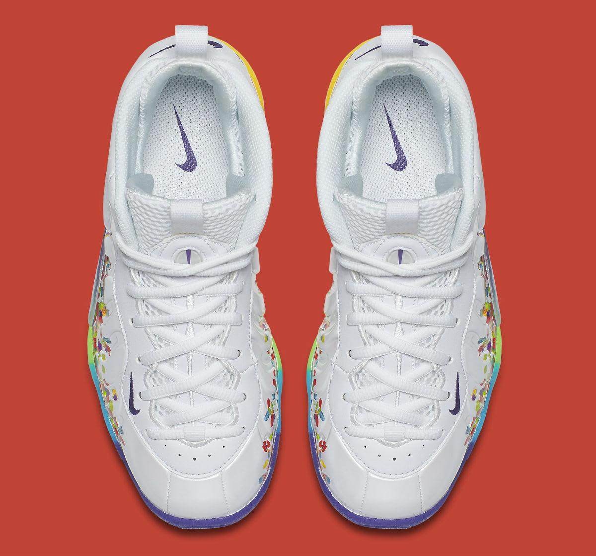 Nike Foamposite Pro Fruity Pebbles Release Date 644792-101 ...