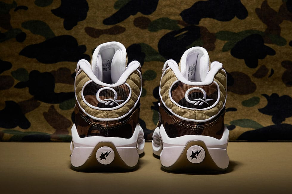 Bape x Mita Sneakers x Reebok Question Mid