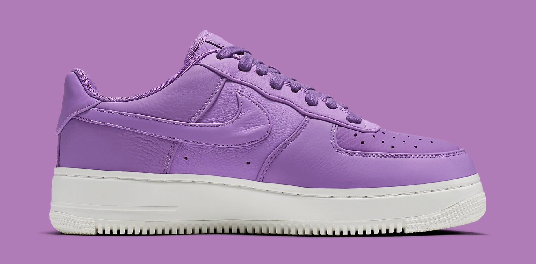 Nike Air Force 1 Low Purple Stardust 905618-500 Medial