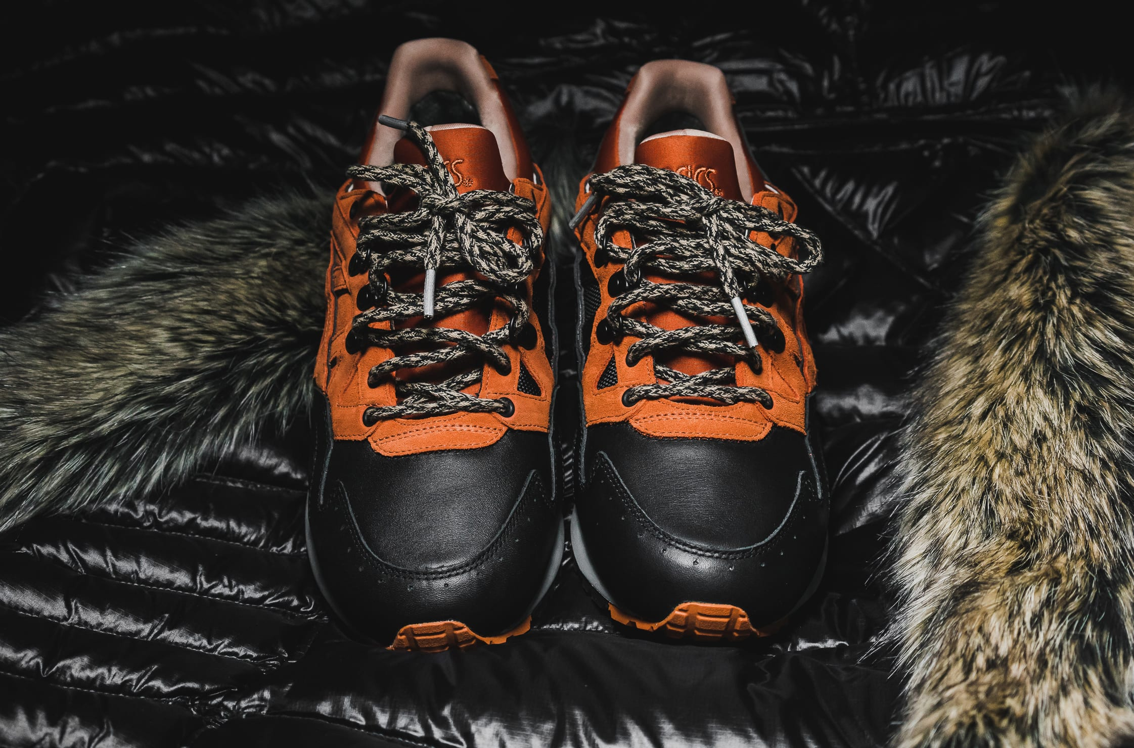 Seinfeld Asics Packer George Costanza Coat Sneakers Front