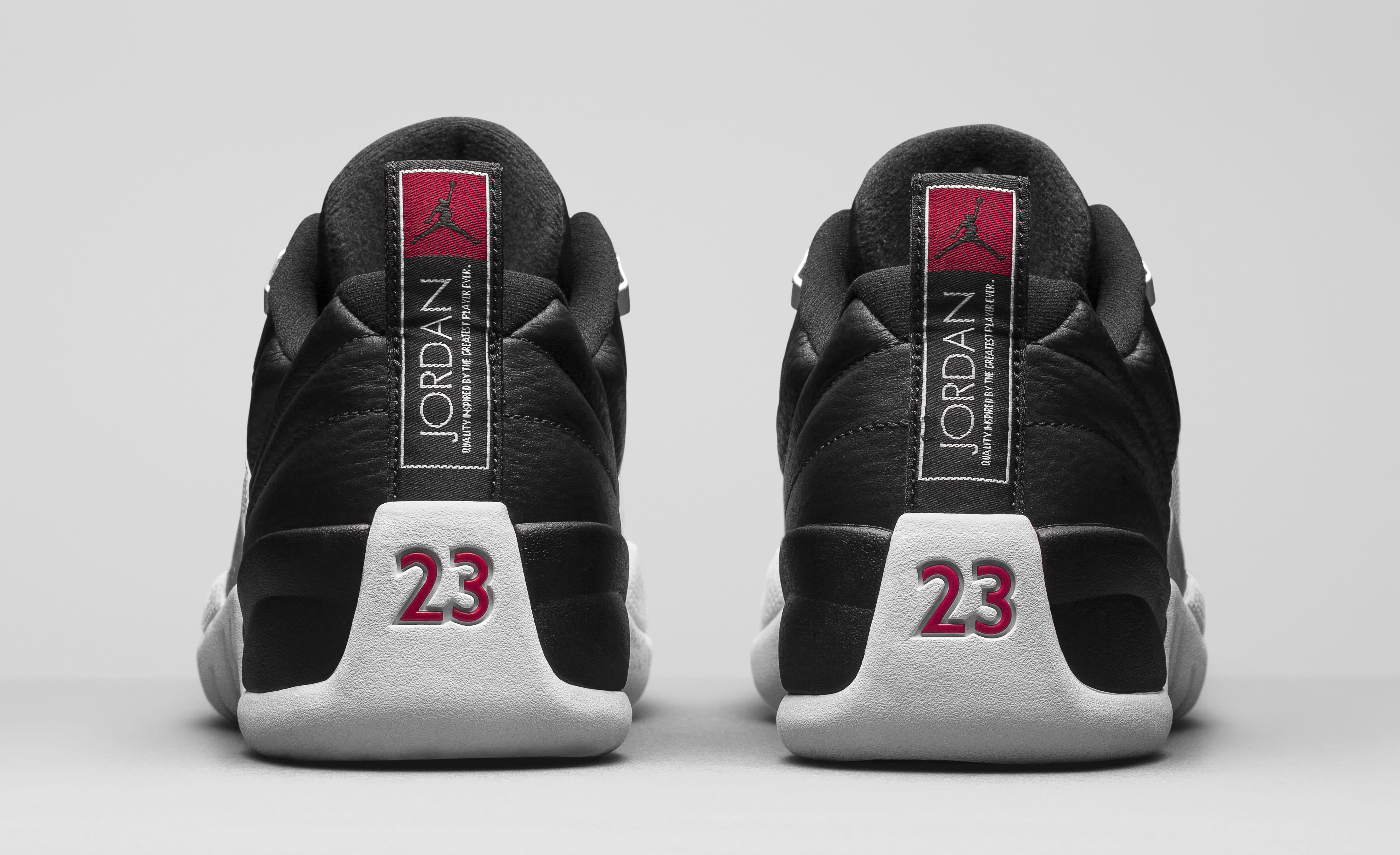 Air Jordan 12 Low Playoffs 308317-004 Heel
