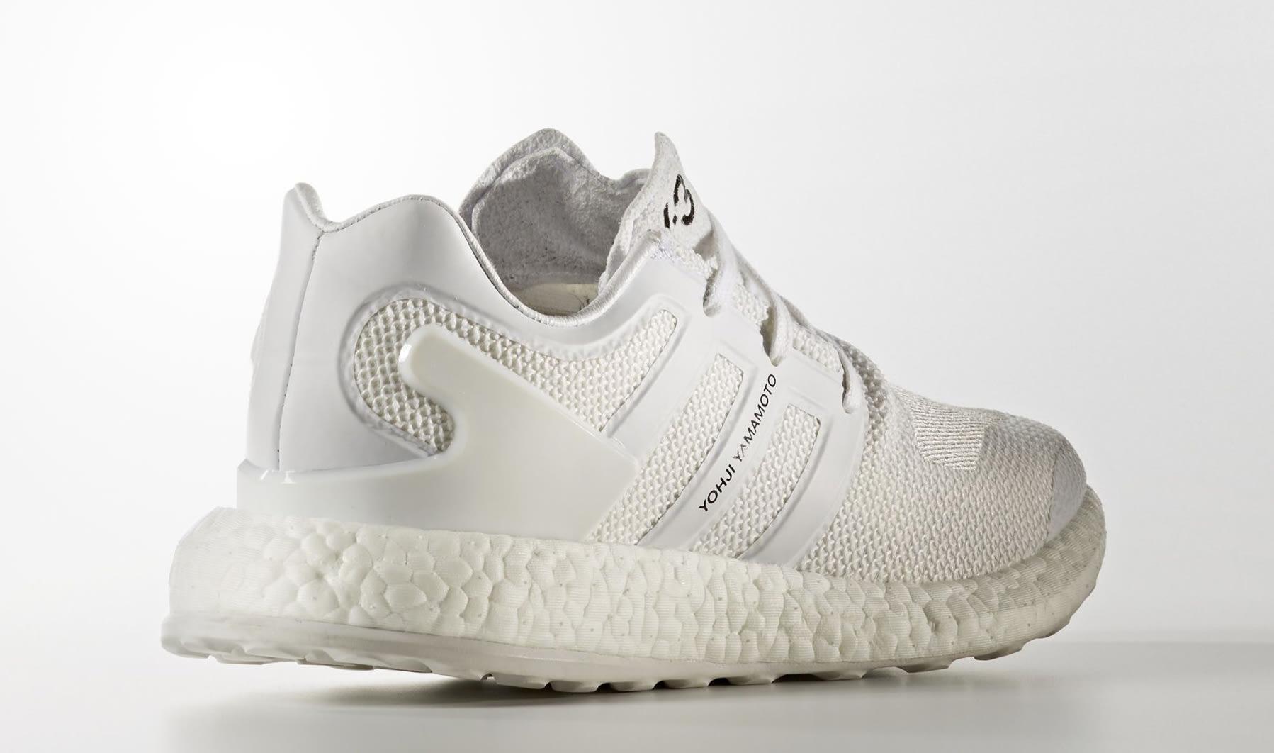 dcc3f1742db Adidas Y3 Pureboost White BY8955 Heel