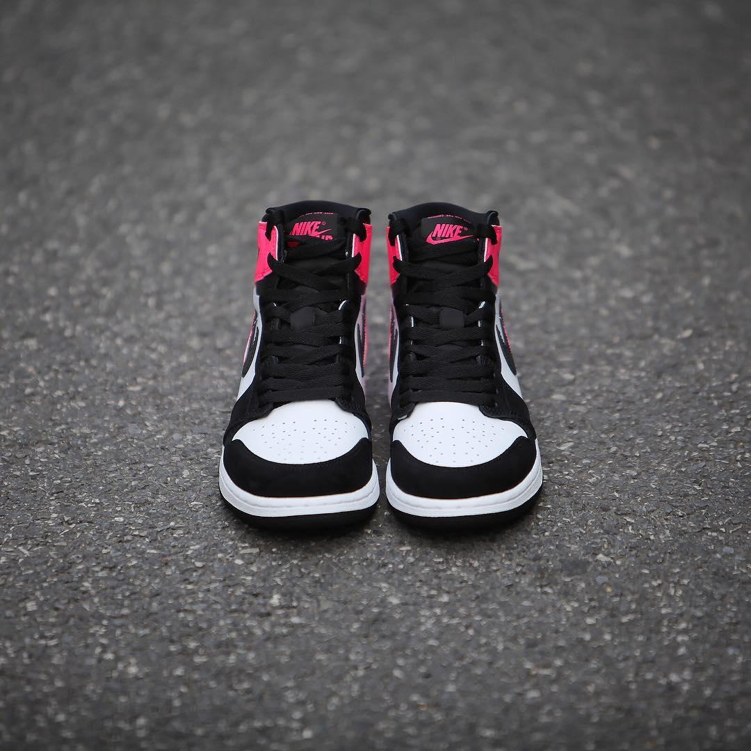 Air Jordan 1 Valentine's Day Black Pink Release Date 3M 881426-009 (6)