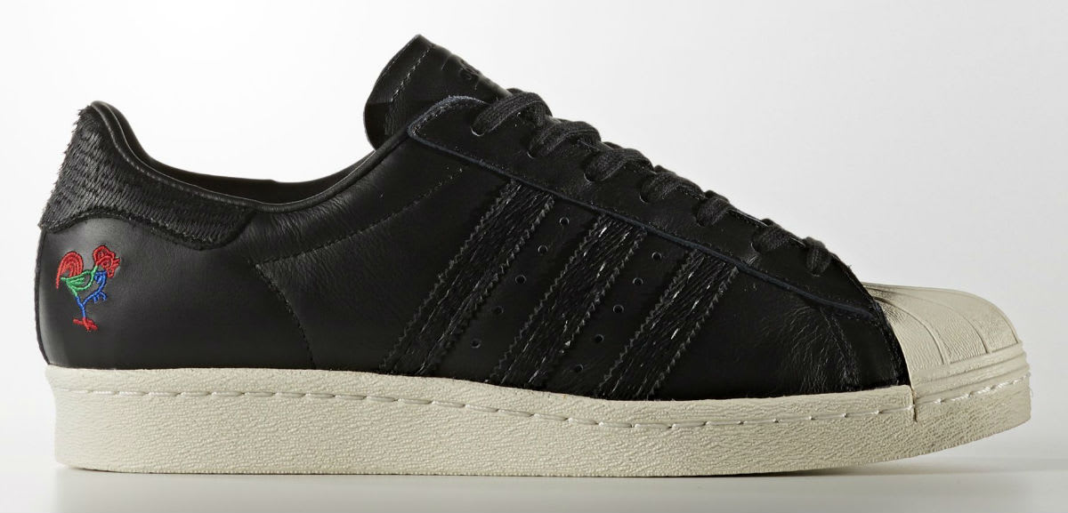 Adidas Superstar CNY Year of the Rooster Release Date Profile BA7778