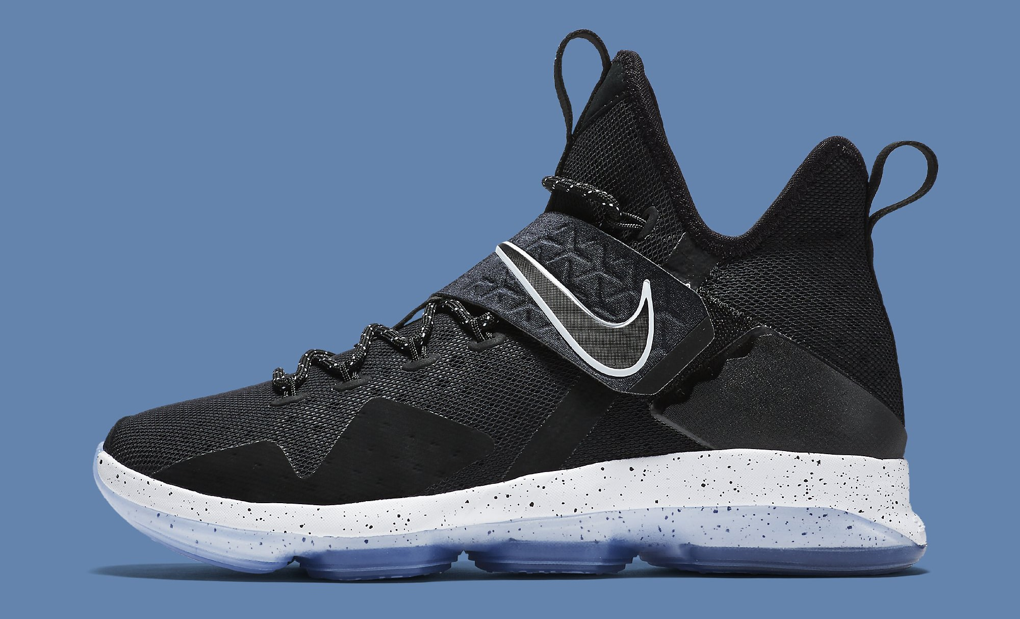finest selection 61f73 d3ddf Black Ice Nike LeBron 14 921084-002 Profile