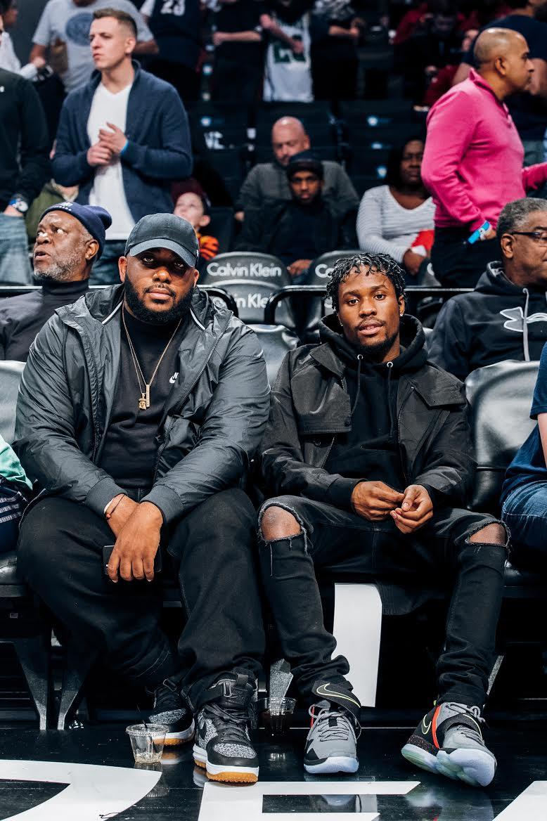 Shameik Moore Nike LeBron 14 Out of Nowhere (2)