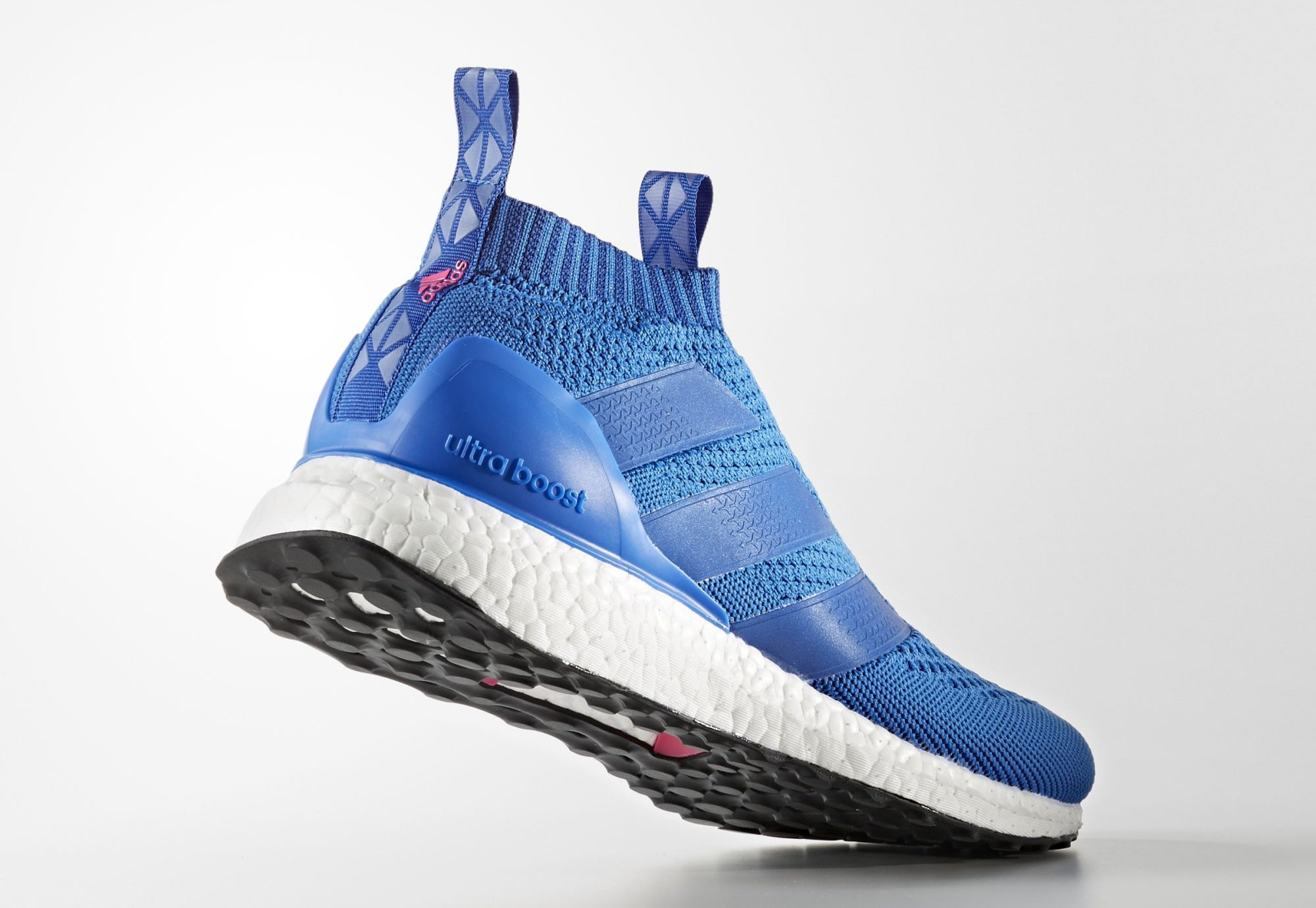 e2f91c9d Adidas Ace 16 Pure Control Ultra Boost Blue Pink BY9090 | Sole Collector