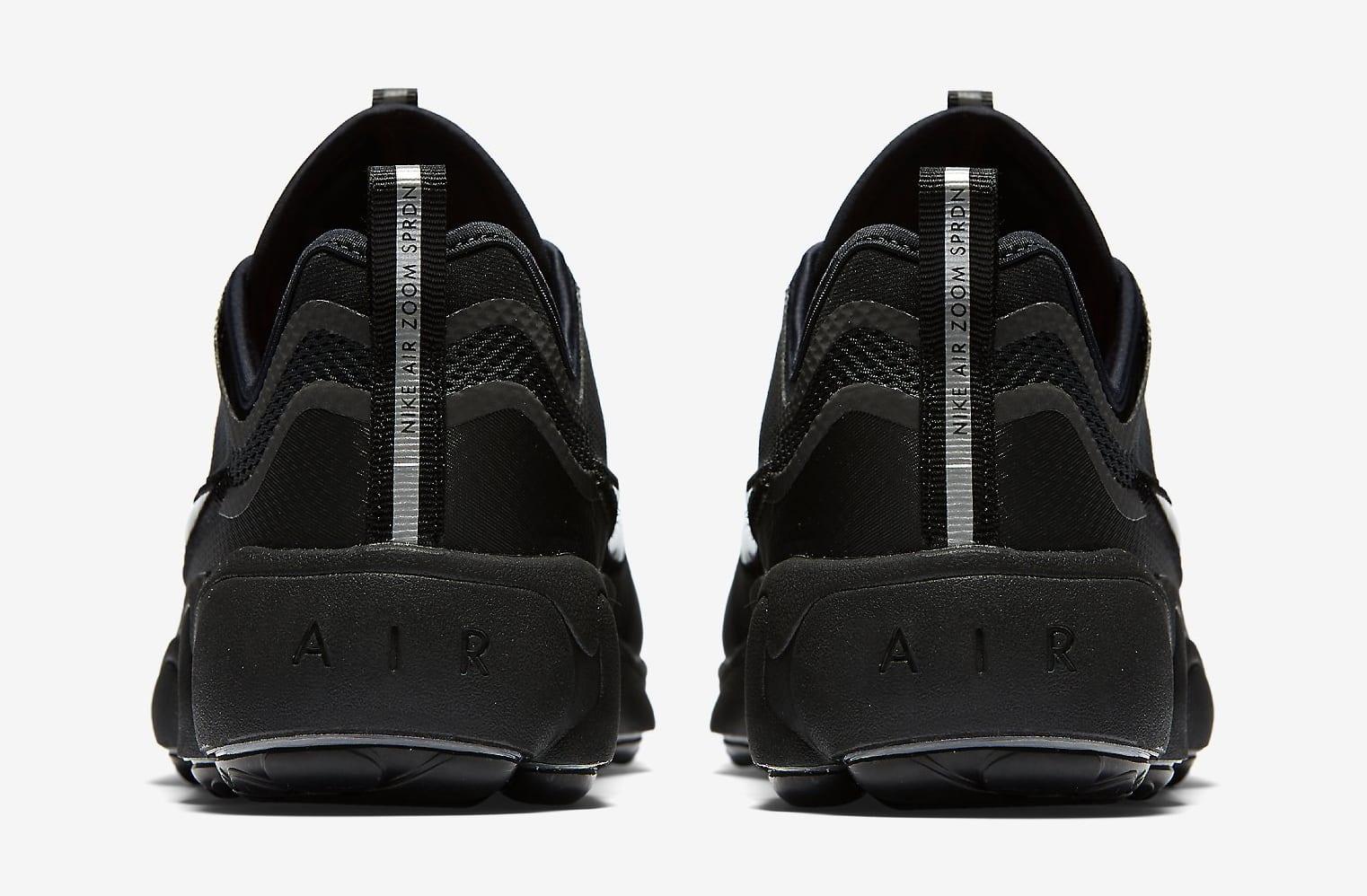 Nike Zoom Spiridon Ultra Black 876267-002 Heel