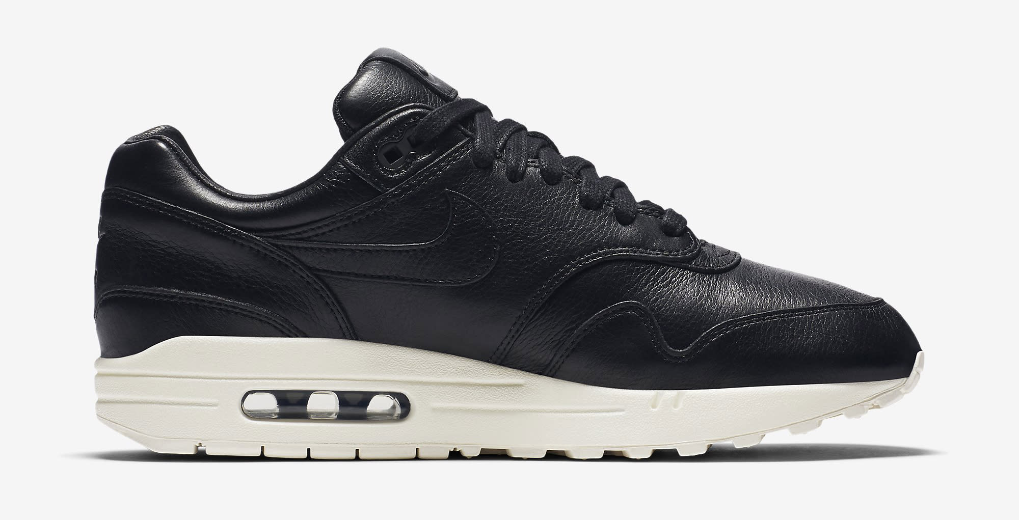 Pinnacle Nike Air Max 1 Leather Black Sail Blue | Sole Collector