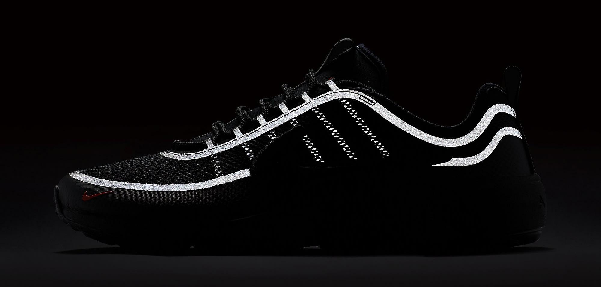 Nike Zoom Spiridon Ultra Black 876267-002 Reflective