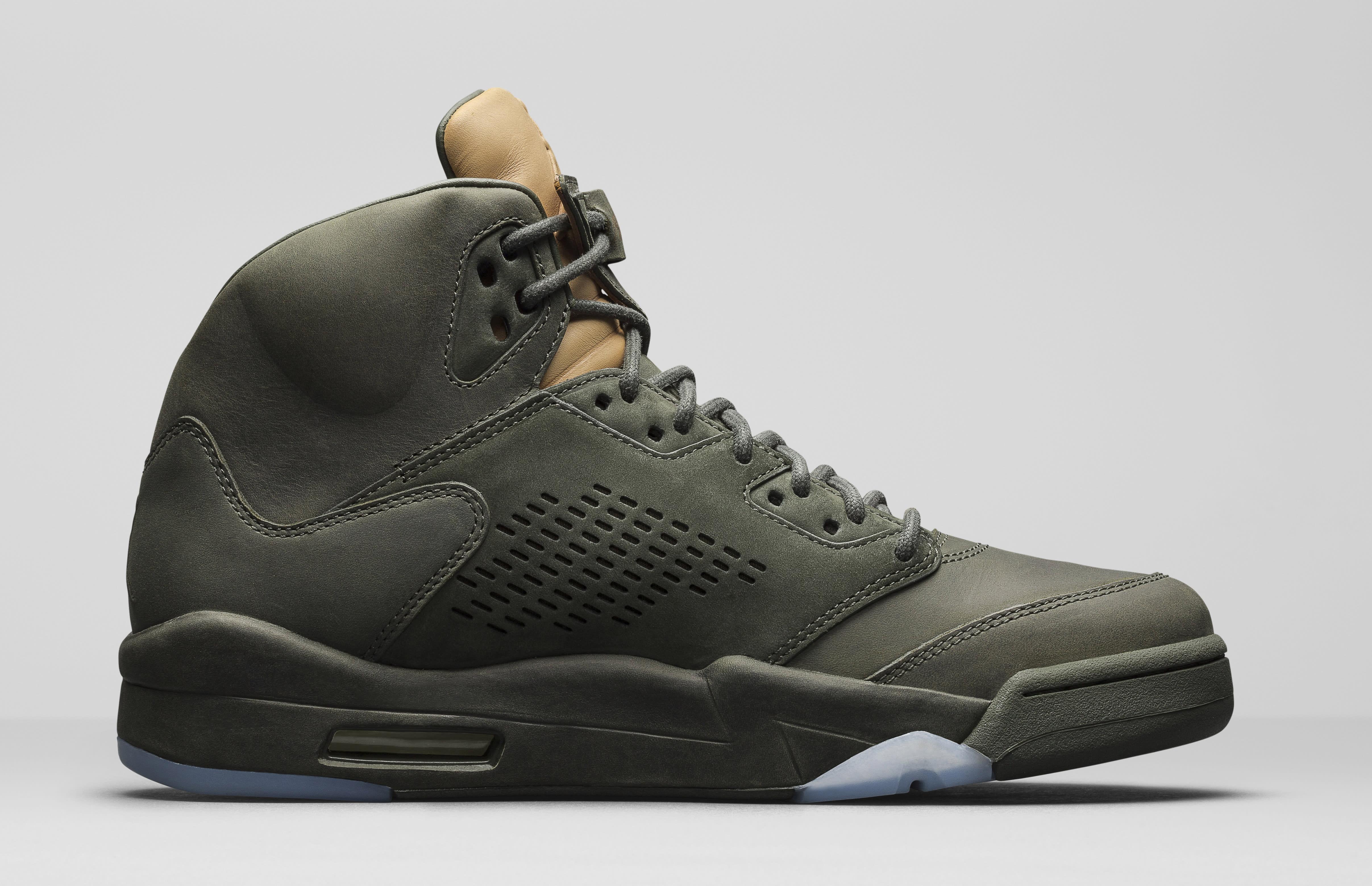 Nike Air New York Jordan 5 Retro PREM V Premium Take Flight Men Sequoia AJ5 881432-305