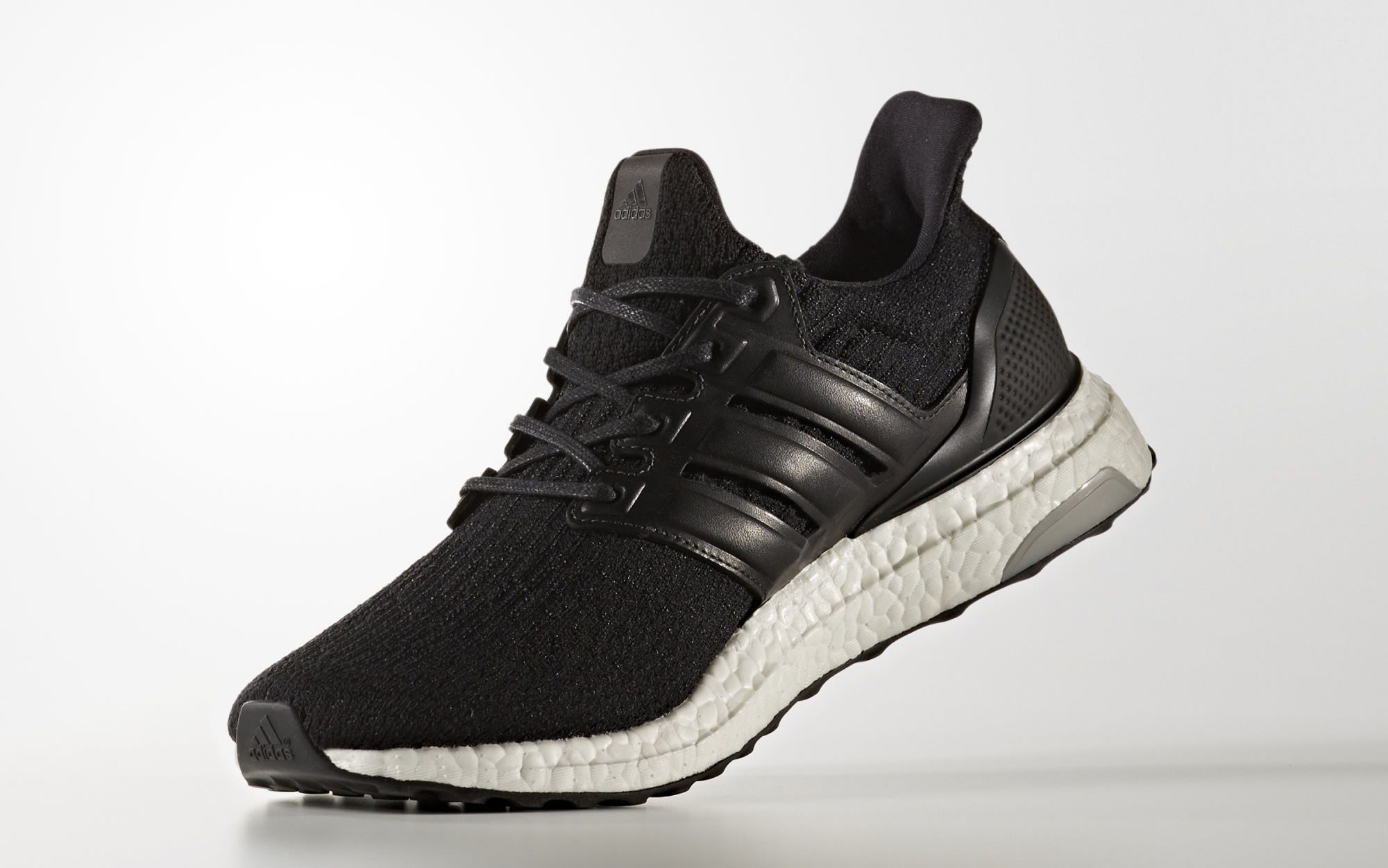 Black Adidas Ultra Boost Leather Cage BA8924 | Sole Collector