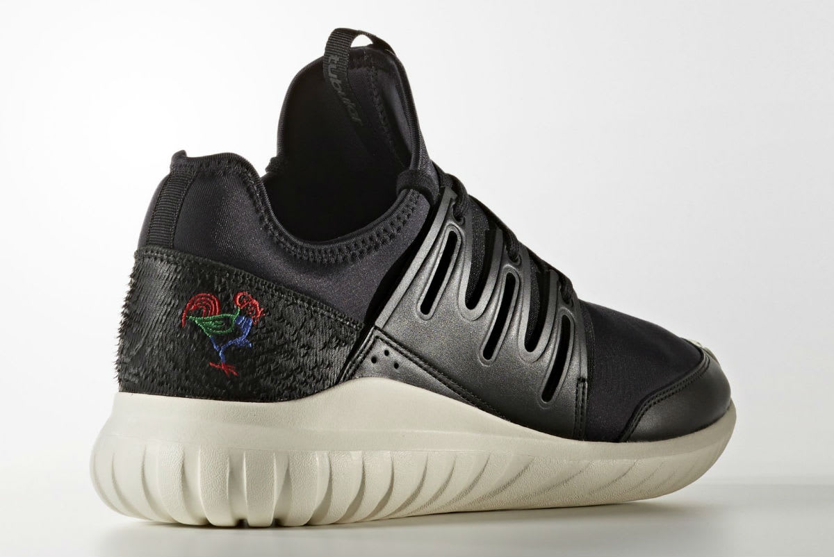 3076f4f55797 Adidas Tubular Radial CNY Year of the Rooster Release Date Lateral BA7780