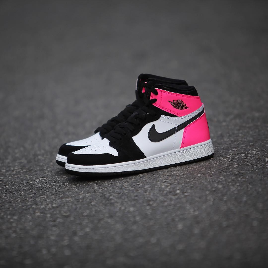 Air Jordan 1 Valentine S Day Black Pink Release Date 3m 881426 009 2