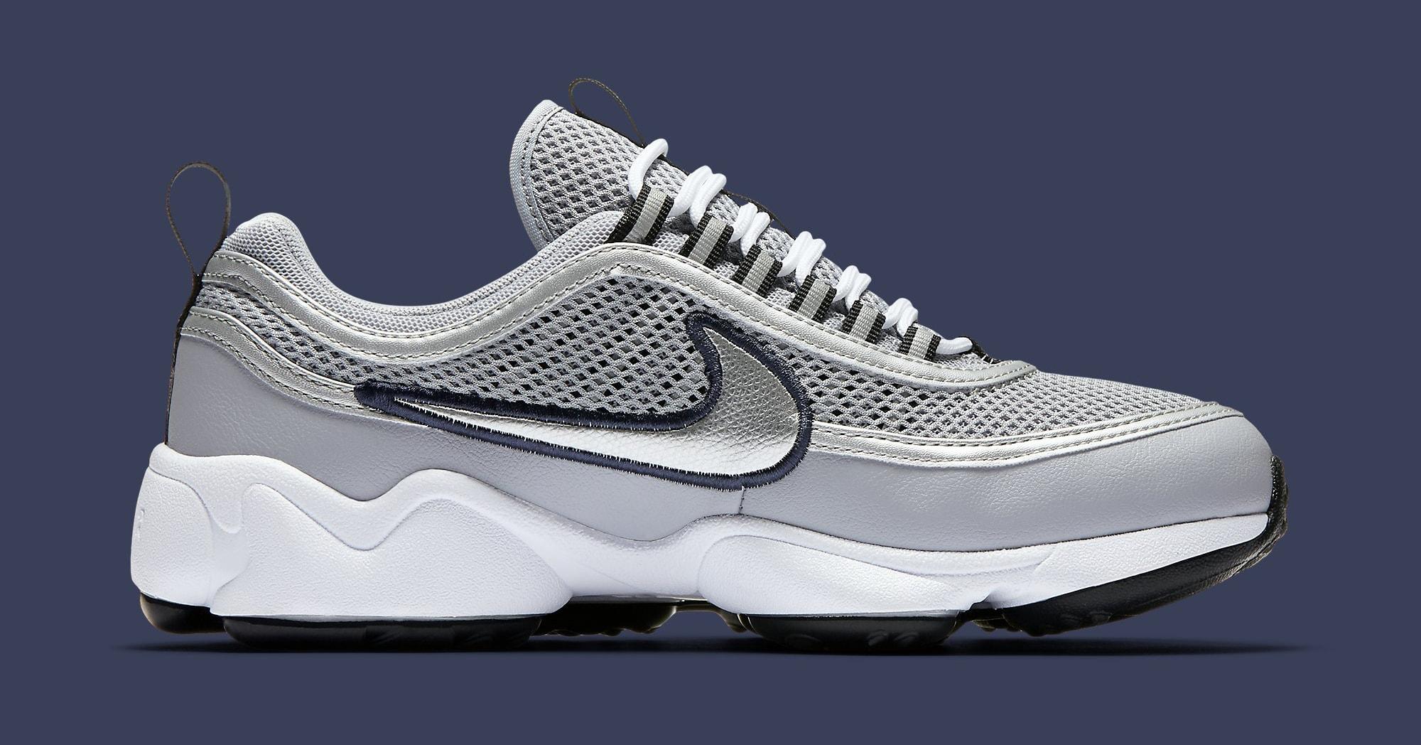 Nike Air Zoom Spiridon Womens Grey Navy 905221 001 | Sole