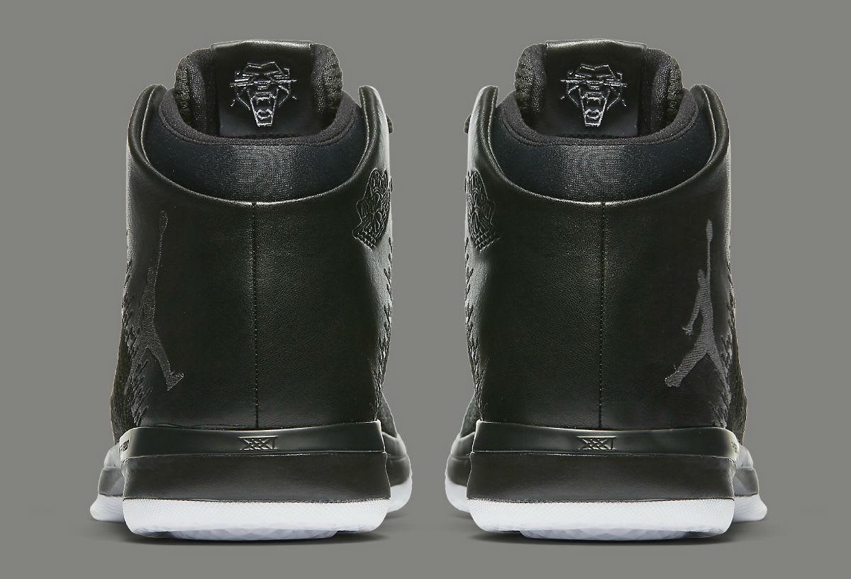 Air Jordan 31 Black Cat Release Date Heel 845037-010