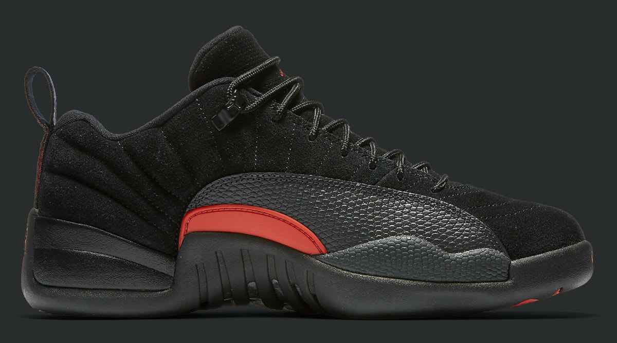 Air Jordan 12 Low Max Orange 2017 Release Date Medial 1308317-003