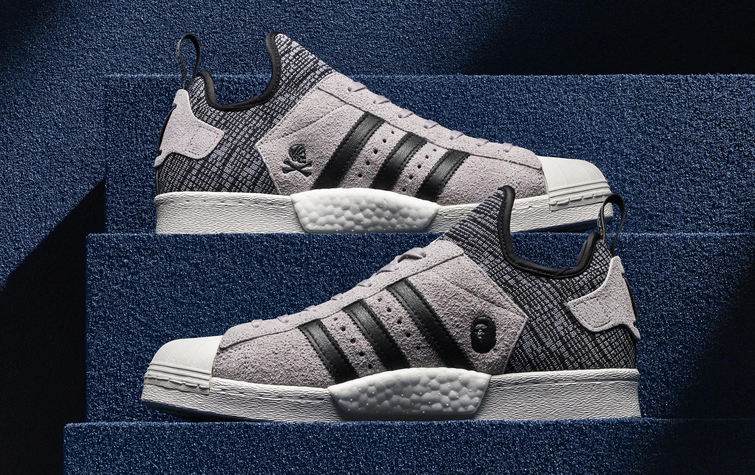 Bape Neighborhood Adidas Superstar Boost 1