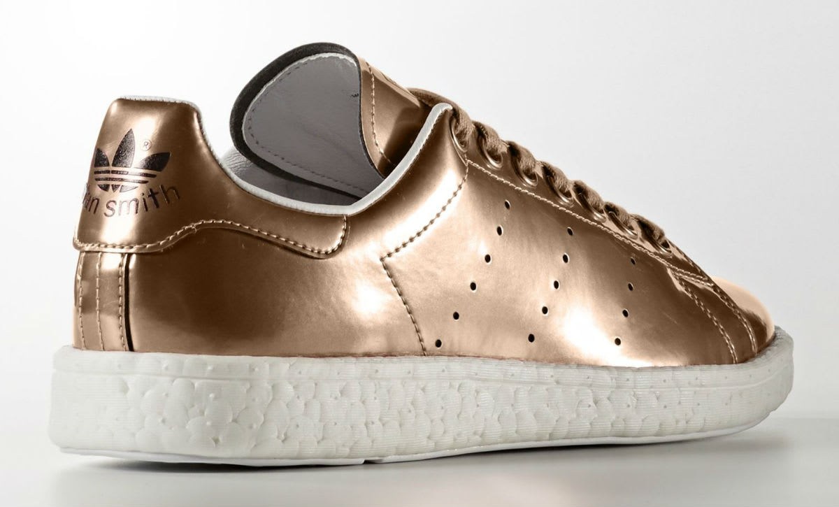 classic fit order online free delivery Adidas Stan Smith Boost Metallic Copper Silver BB0107 BB0108 ...