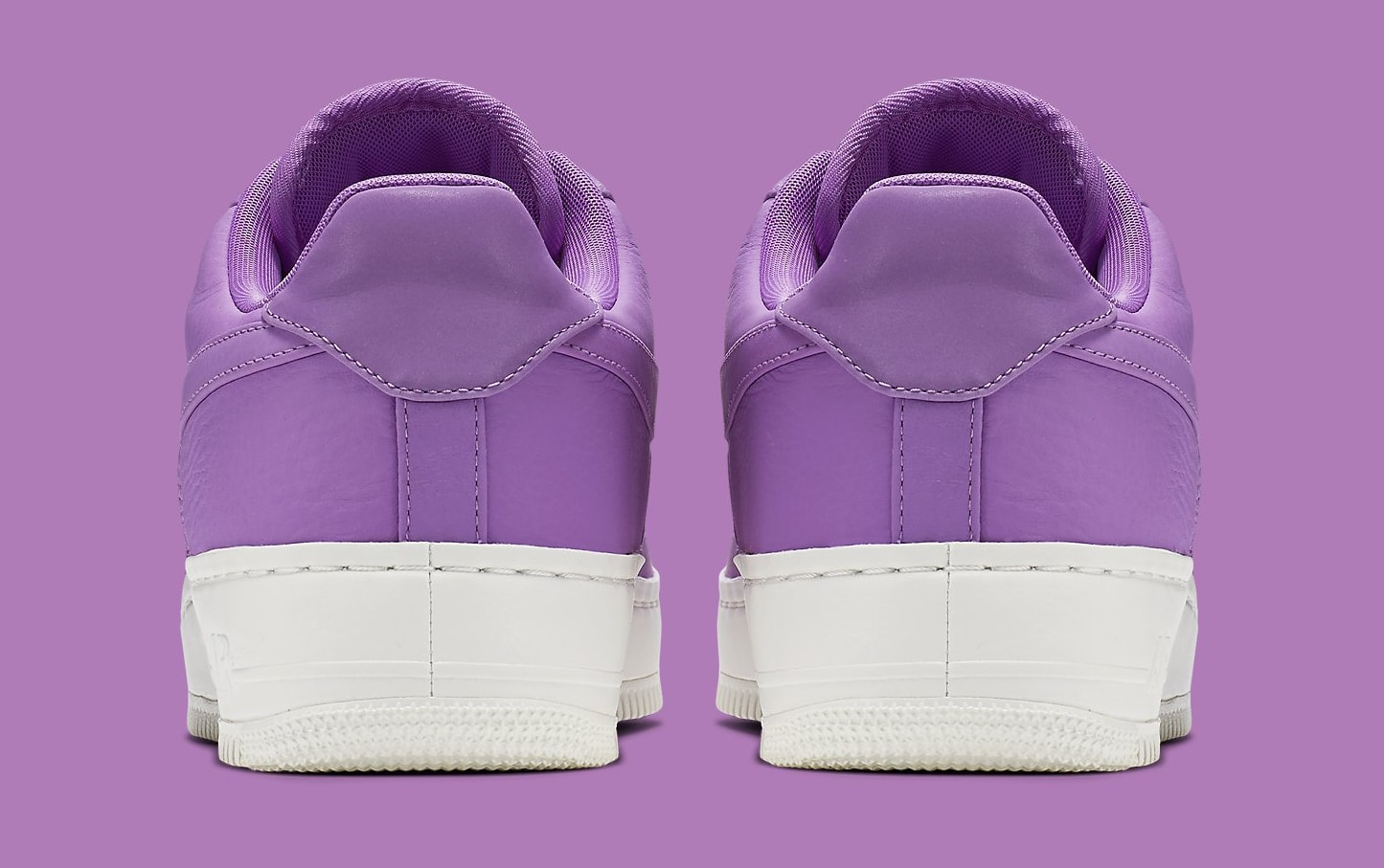 Nike Air Force 1 Low Purple Stardust 905618-500 Heel