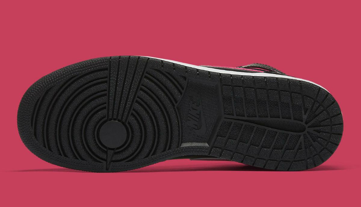 Air Jordan 1 GS Vivid Pink Release Date Sole 332148-019