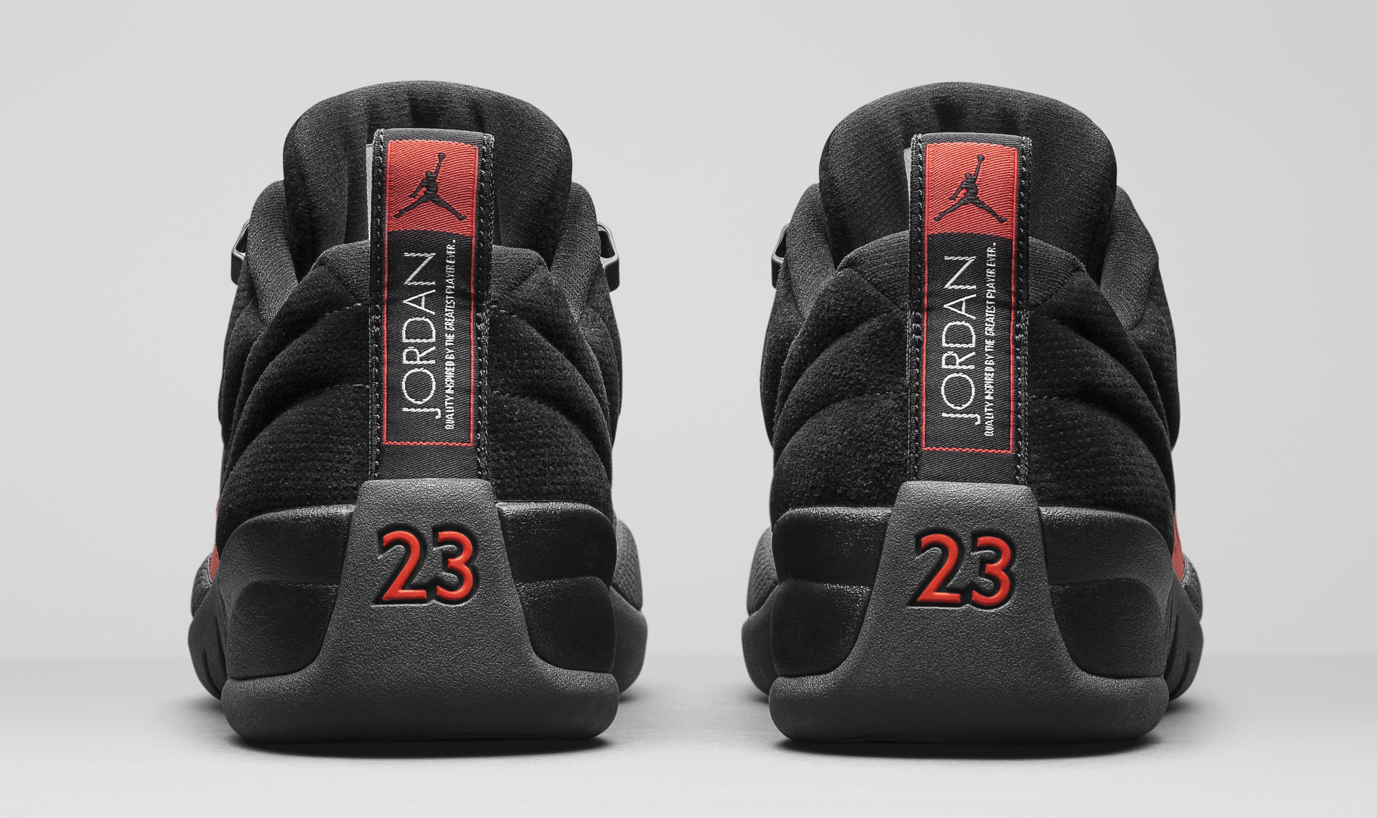 Air Jordan 12 Low Max Orange 308317-003 Heel