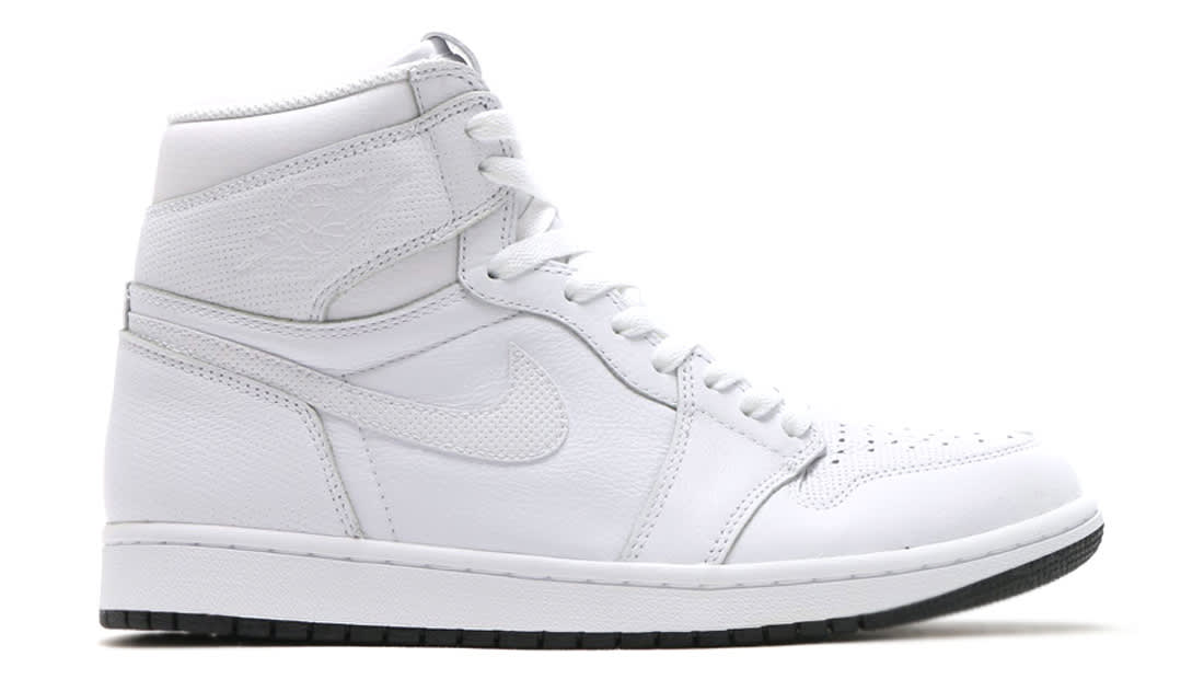 Air Jordan 1 Retro High OG White Perforated Sole Collector Release Date Roundup