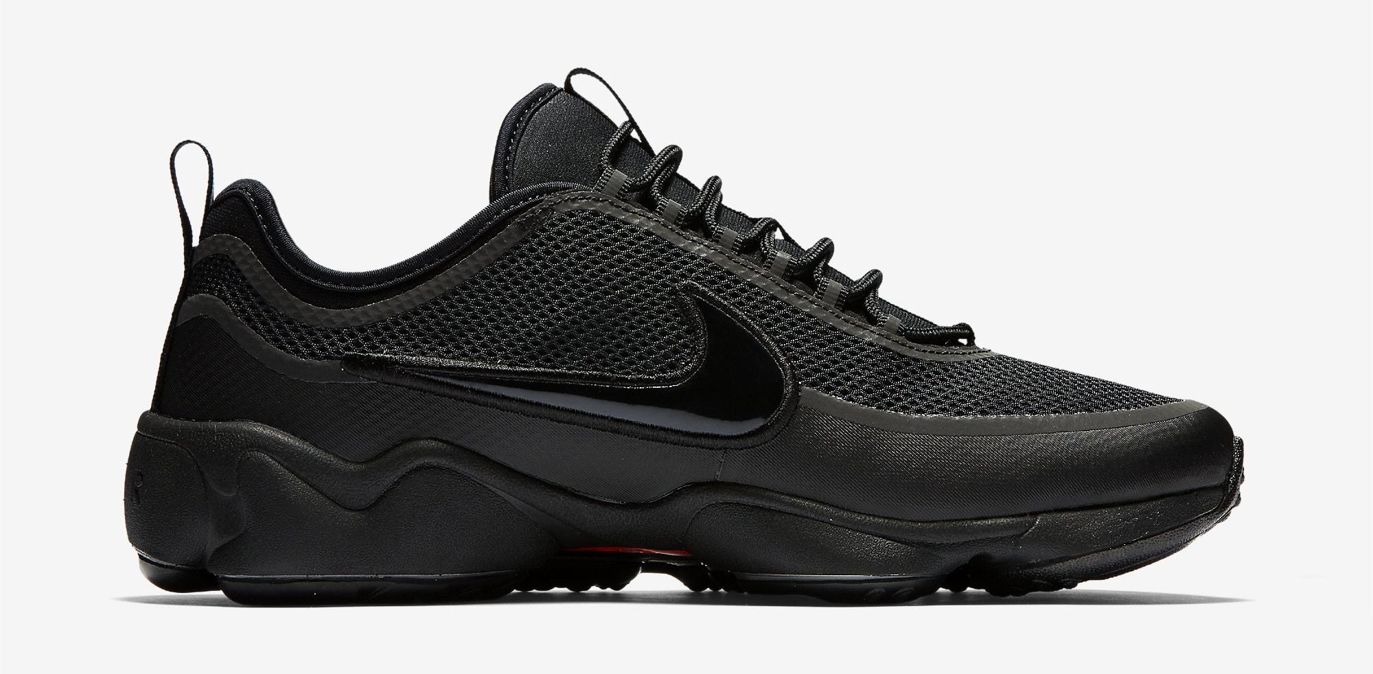 Nike Zoom Spiridon Ultra Black 876267-002 Medial