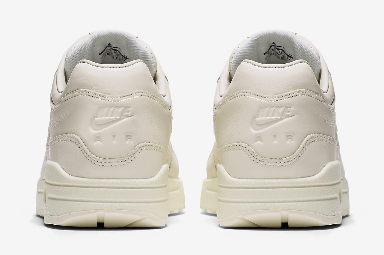 competitive price f9fd2 df0cd Image via Nike Nike Air Max 1 Pinnacle Sail 859554-101 Heel