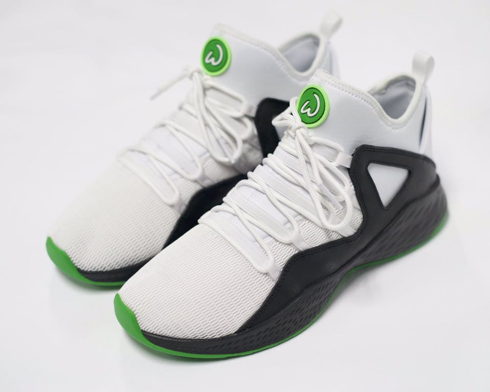 Mark Wahlberg Jordan Sneakers Formula 23 White Black
