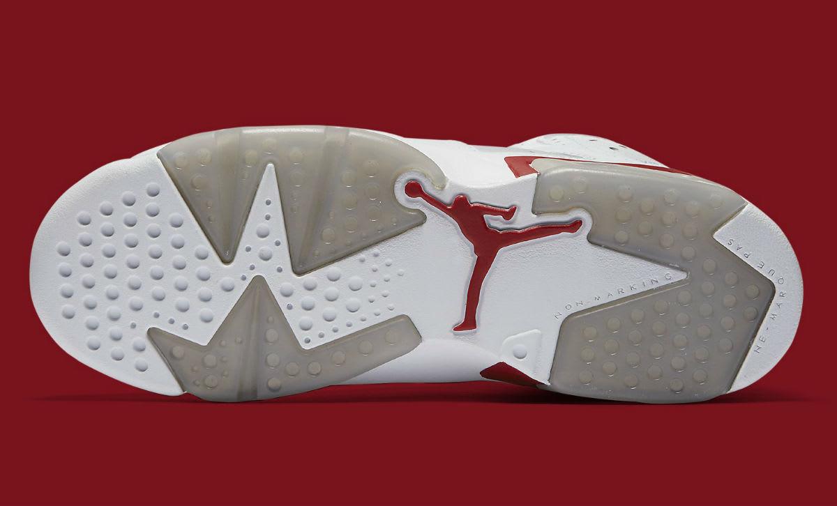 Air Jordan 6 Alternate Release Date Sole 384664-113