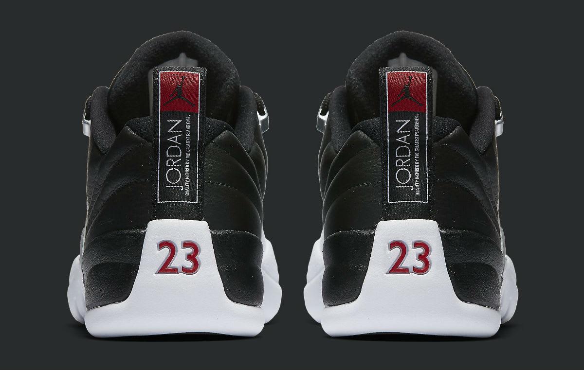 Air Jordan 12 Low Playoffs Heel 308317-004