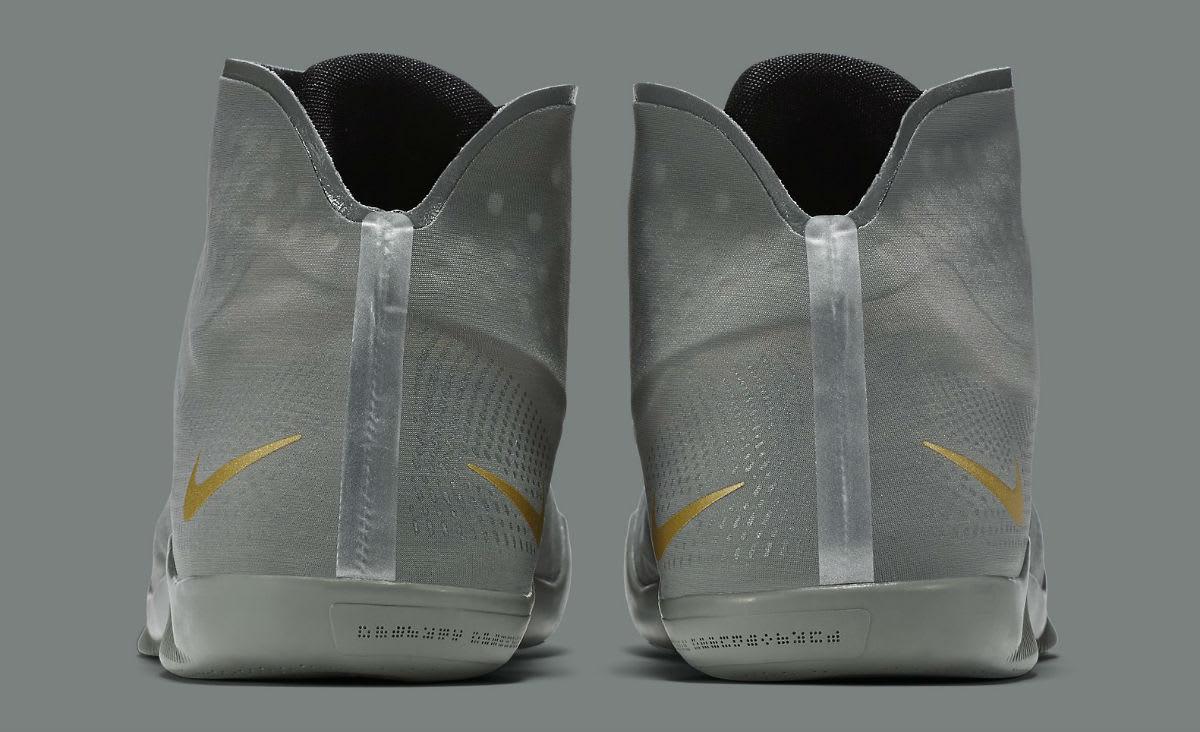 a68207f1972e Nike Kobe 11 ALT Grey Release Date Heel 880463-079